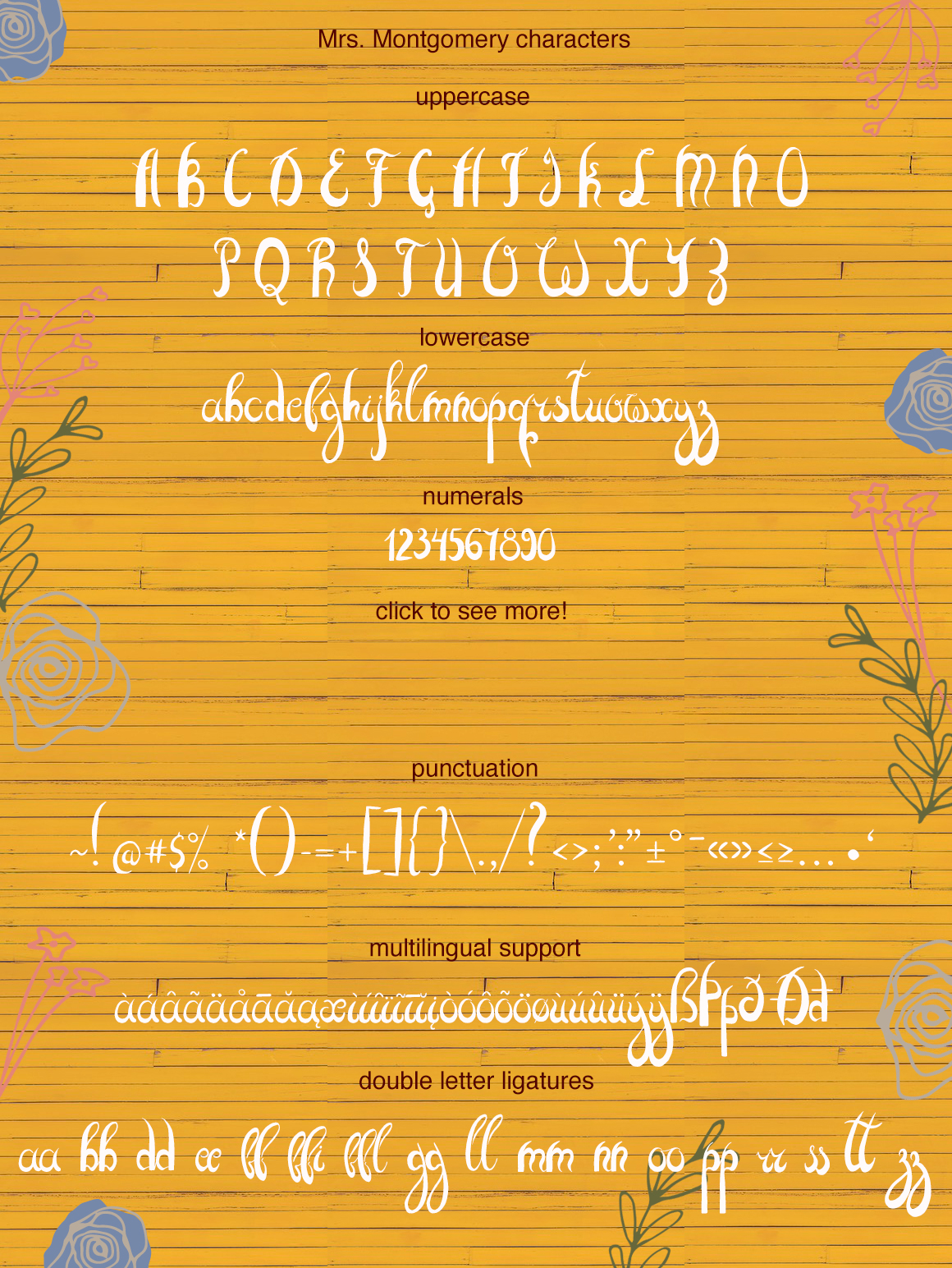 Mrs. Montgomery Brush Font example image 8