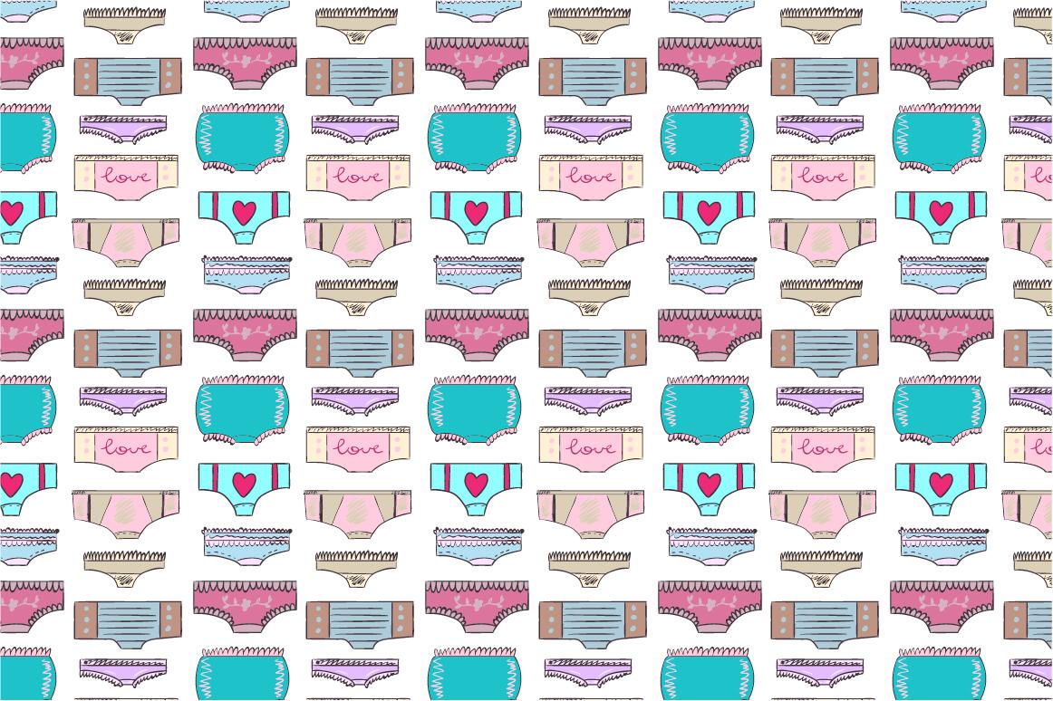 Doodled lingerie set example image 6