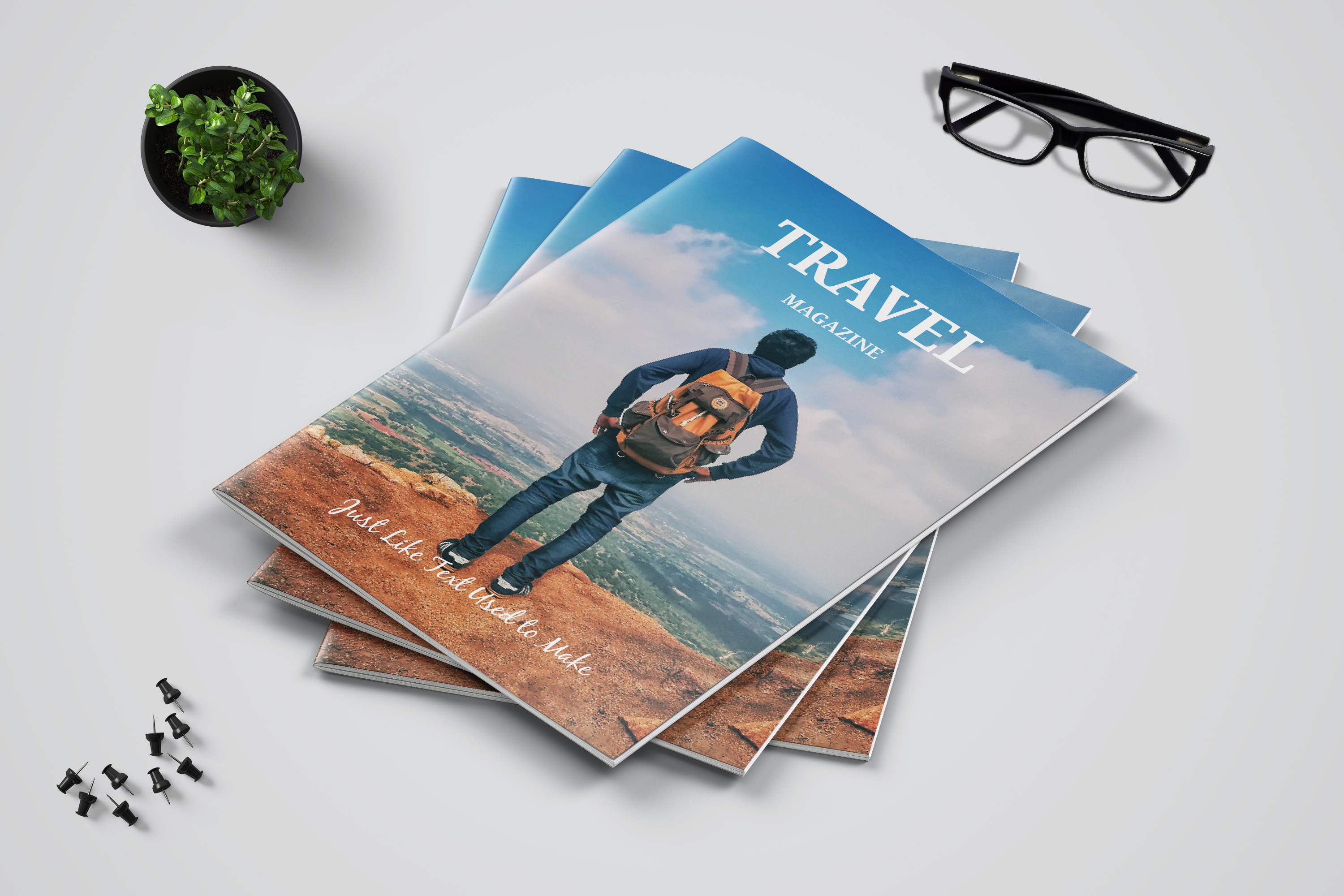 Travel Magazine Template example image 2