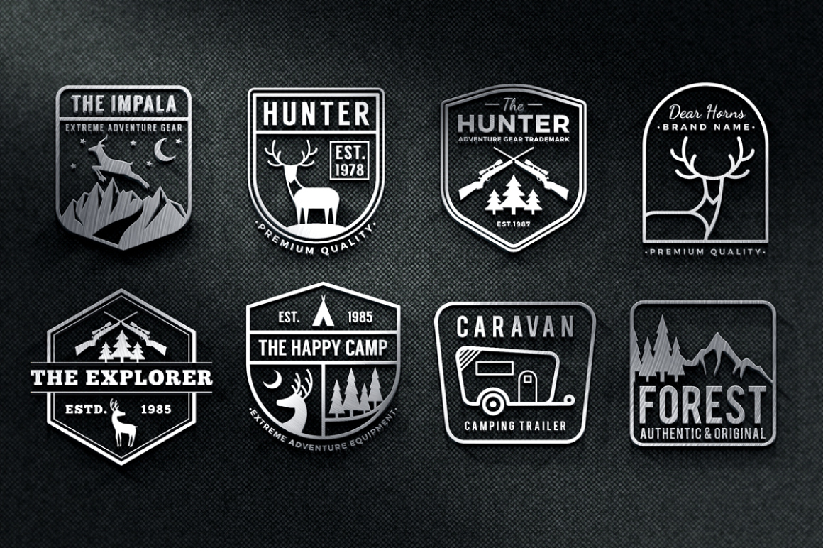 Adventure Badge Logo Template example image 3
