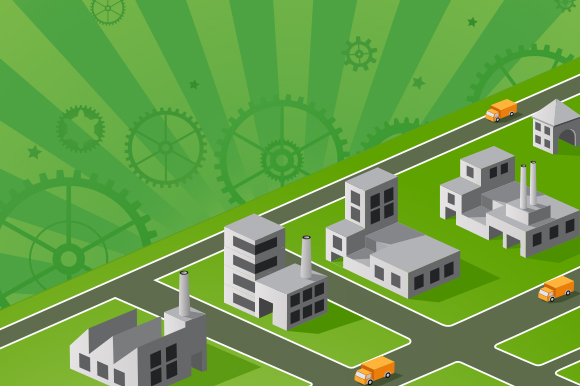 Industrial Illustrations example image 1