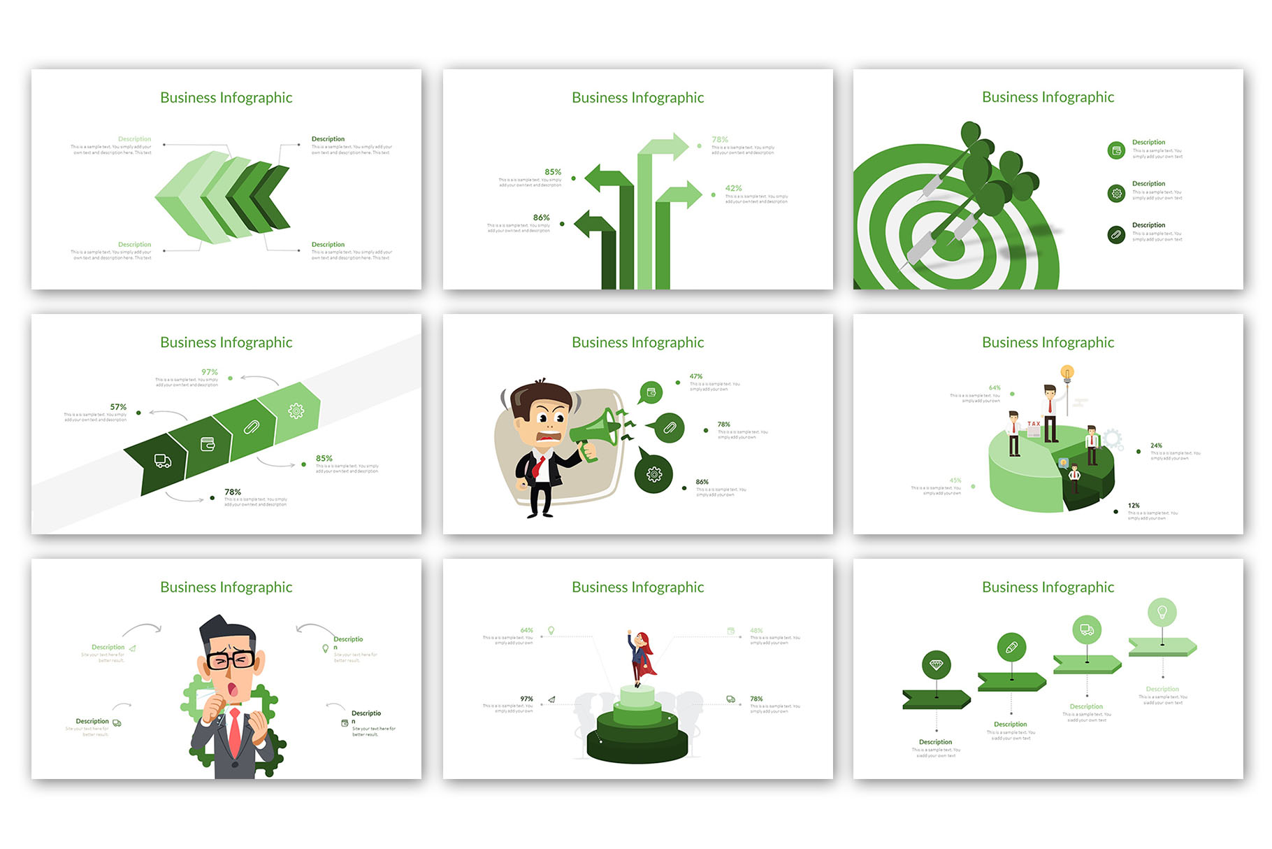 Modern Business Presentation Template example image 13