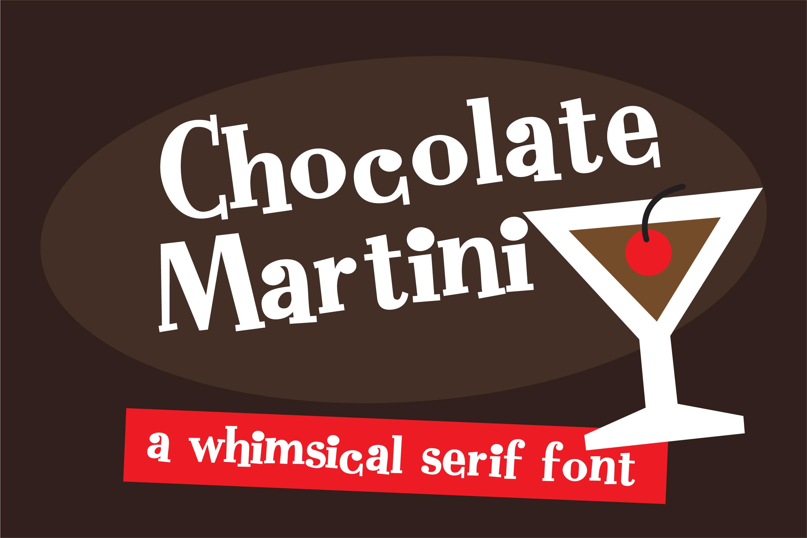 ZP Chocolate Martini example image 1