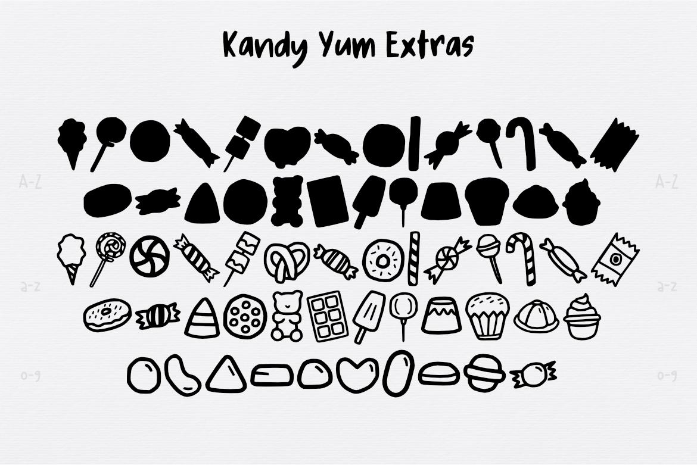 Kandy Yum Font example image 3