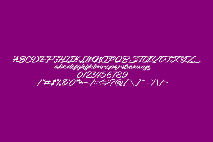 Bahari Typeface example image 3