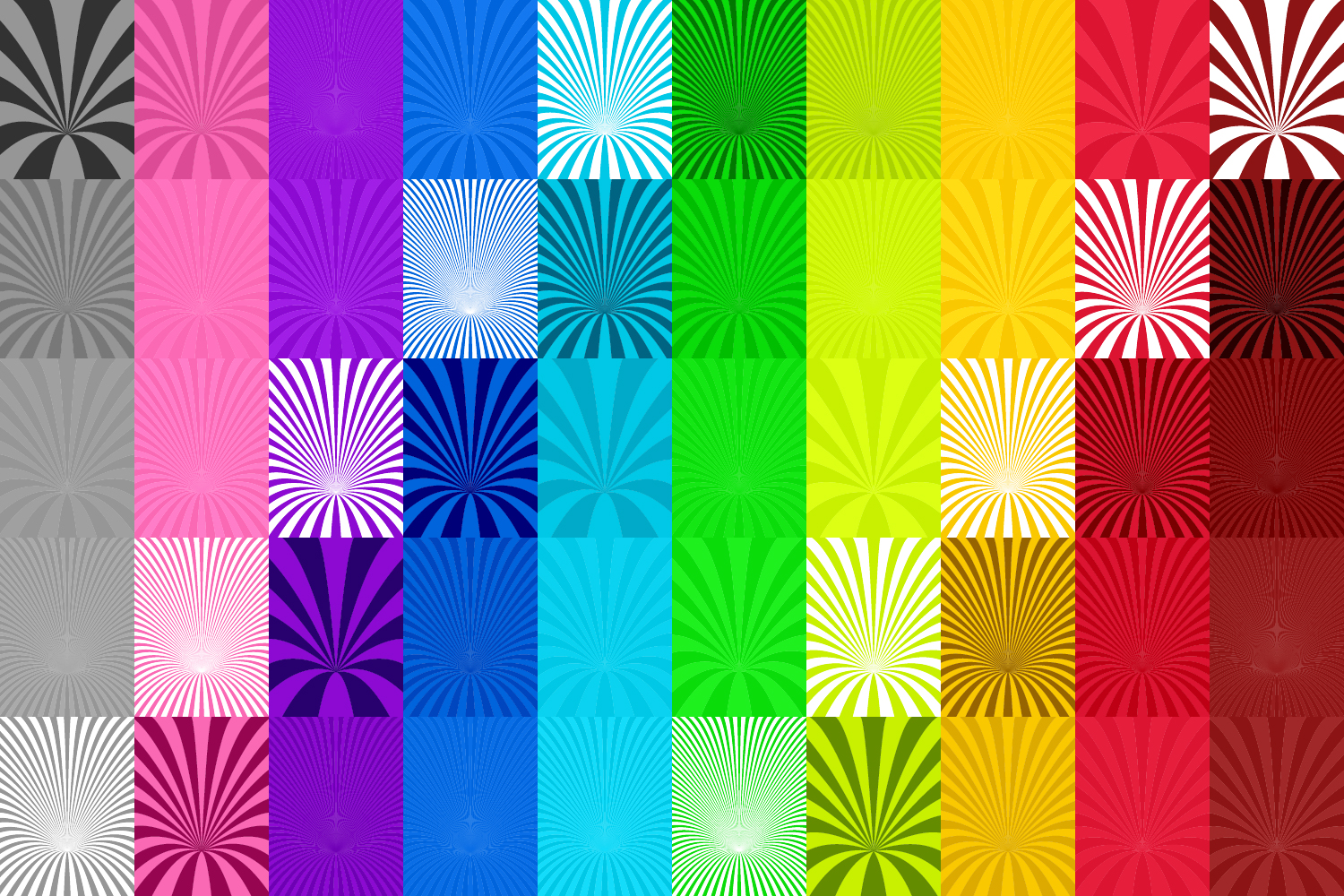 50 Curved Backgrounds AI, EPS, JPG 5000x5000 example image 4