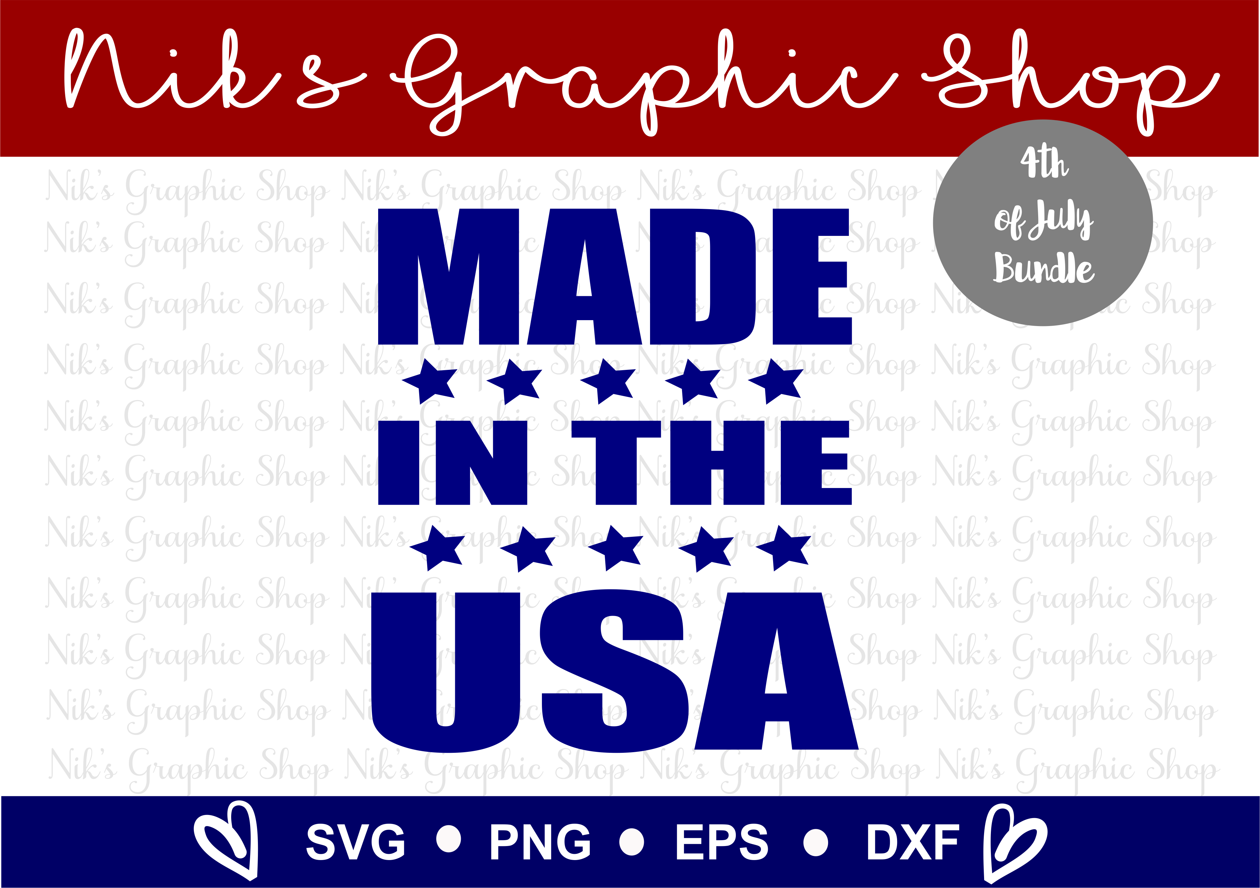 4th of July SVG, Fourth of July, July SVG, 4th SVG, Fourth example image 7