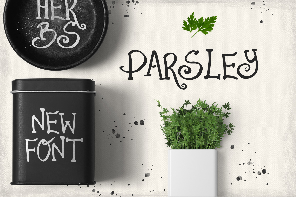Parsley font example image 4