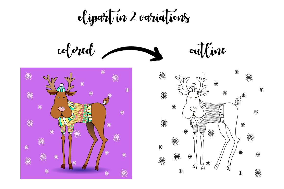 Christmas Hollidays set. example image 2