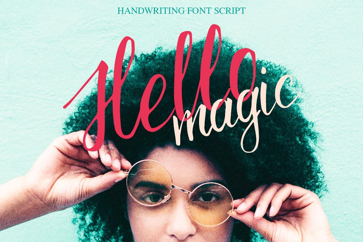 Hello, magic example image 1