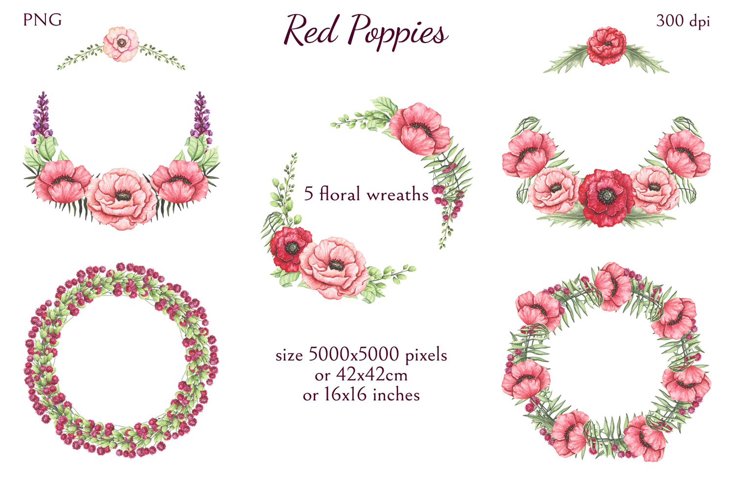 Red Poppies example image 9