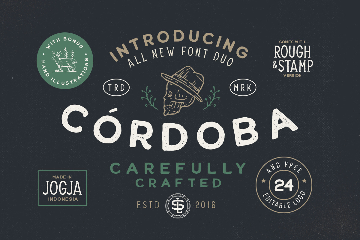 Cordoba - Font Duo EXTRA example image 1