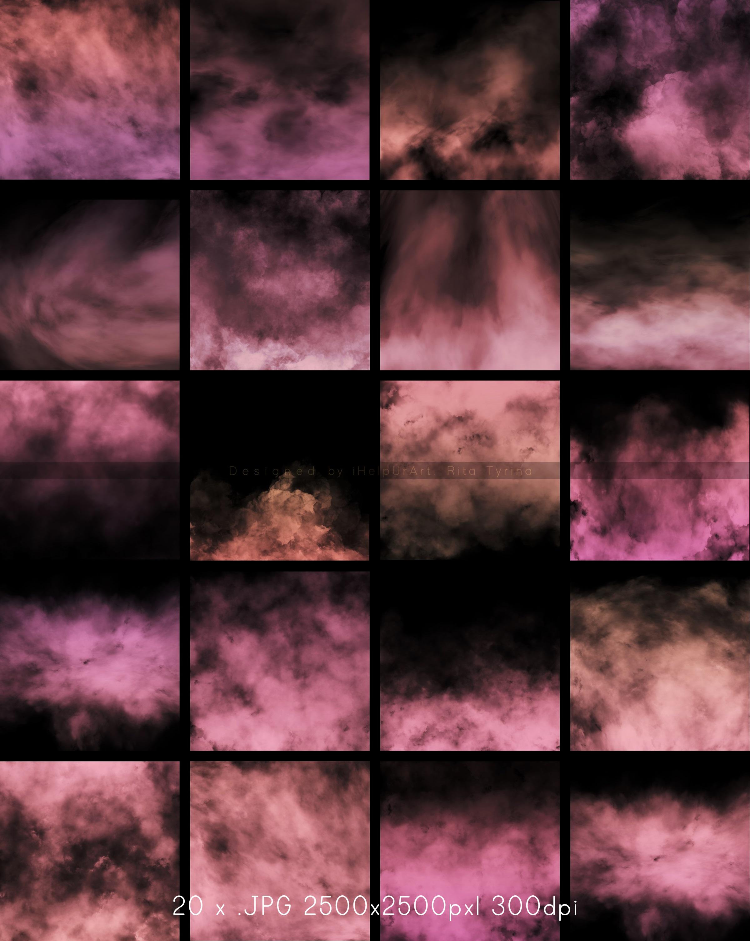 Pink Fog Photo Overlays Bundle - Glamour Photo Filter example image 6