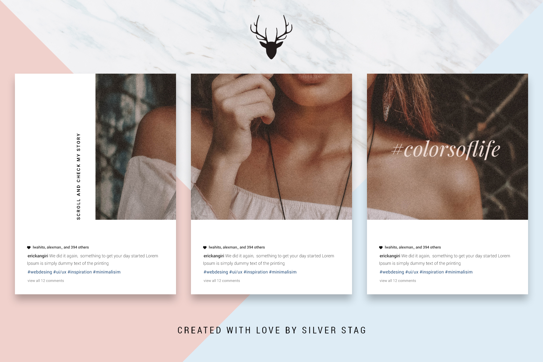 #InstaGrid 1.0 - Instagram Canva Puzzle Template example image 7