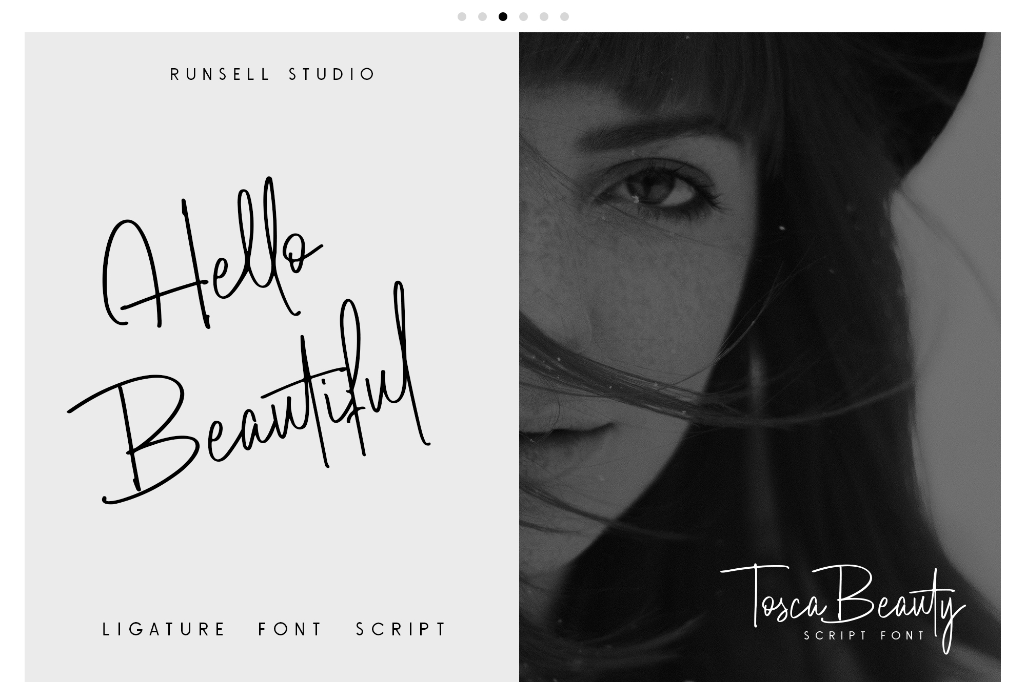 Tosca Beauty Handwritten Font example image 6