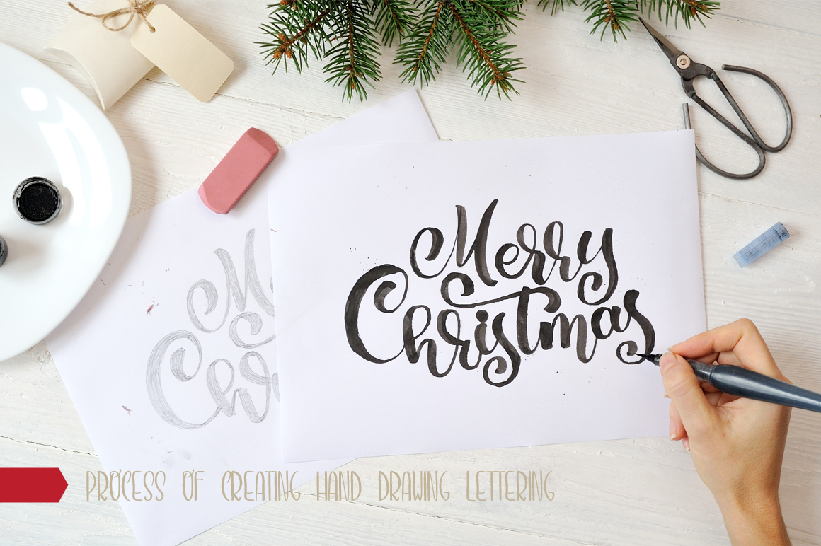 Christmas Bundle mockup example image 14