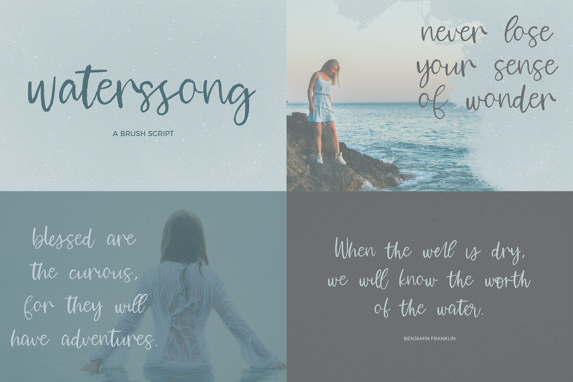 The Brush Font Bundle example image 3