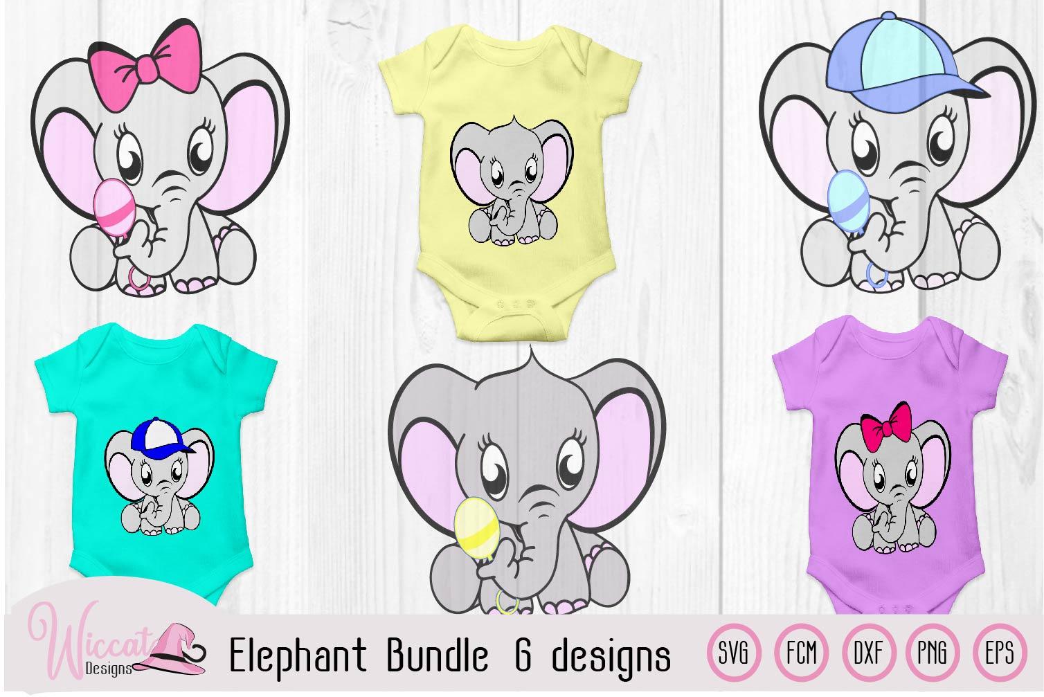 Elephant bundle, Baby elephant, Neutral boy, girl example image 1