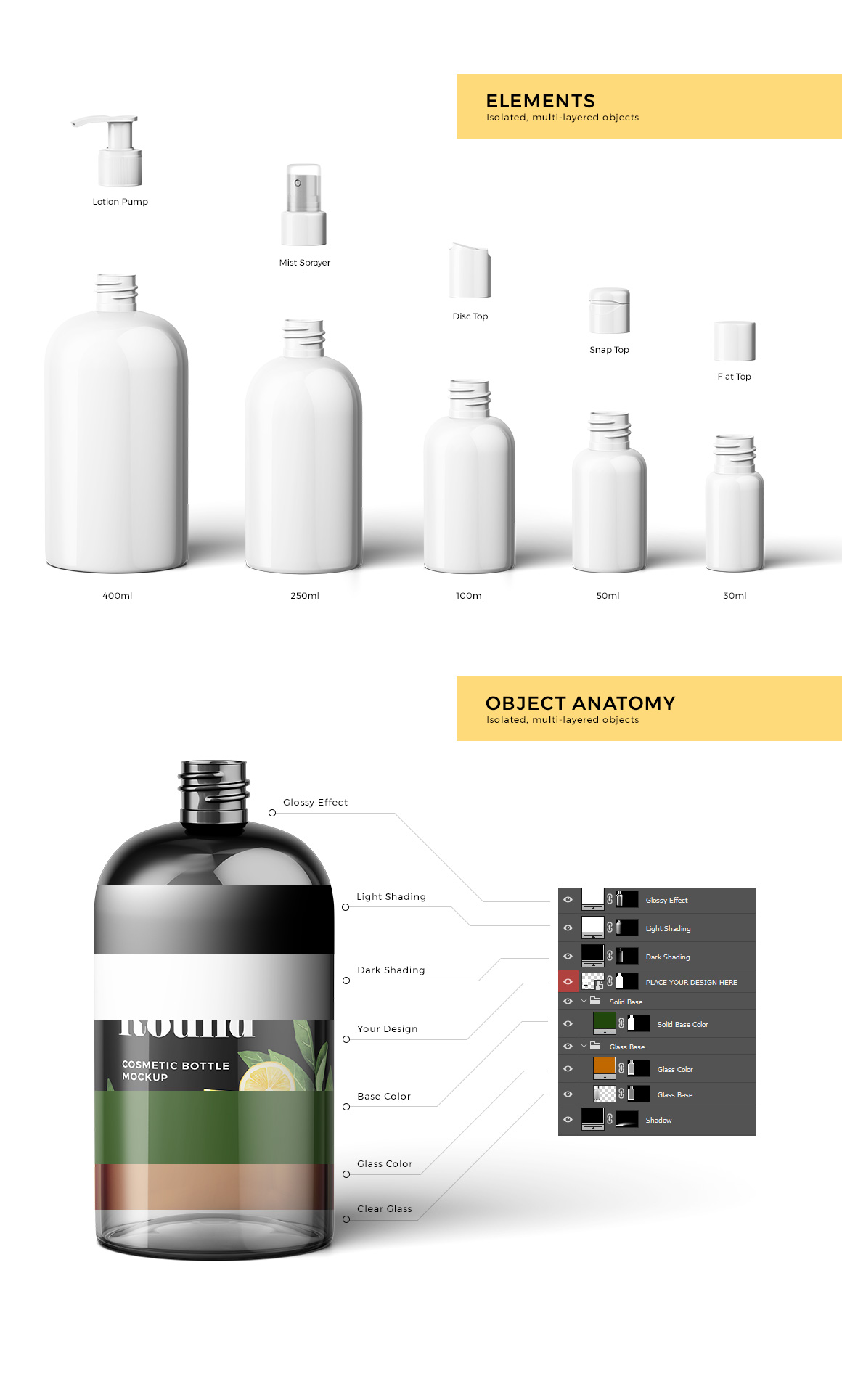 Cosmetic Bottles Mockup Vol.1 example image 2