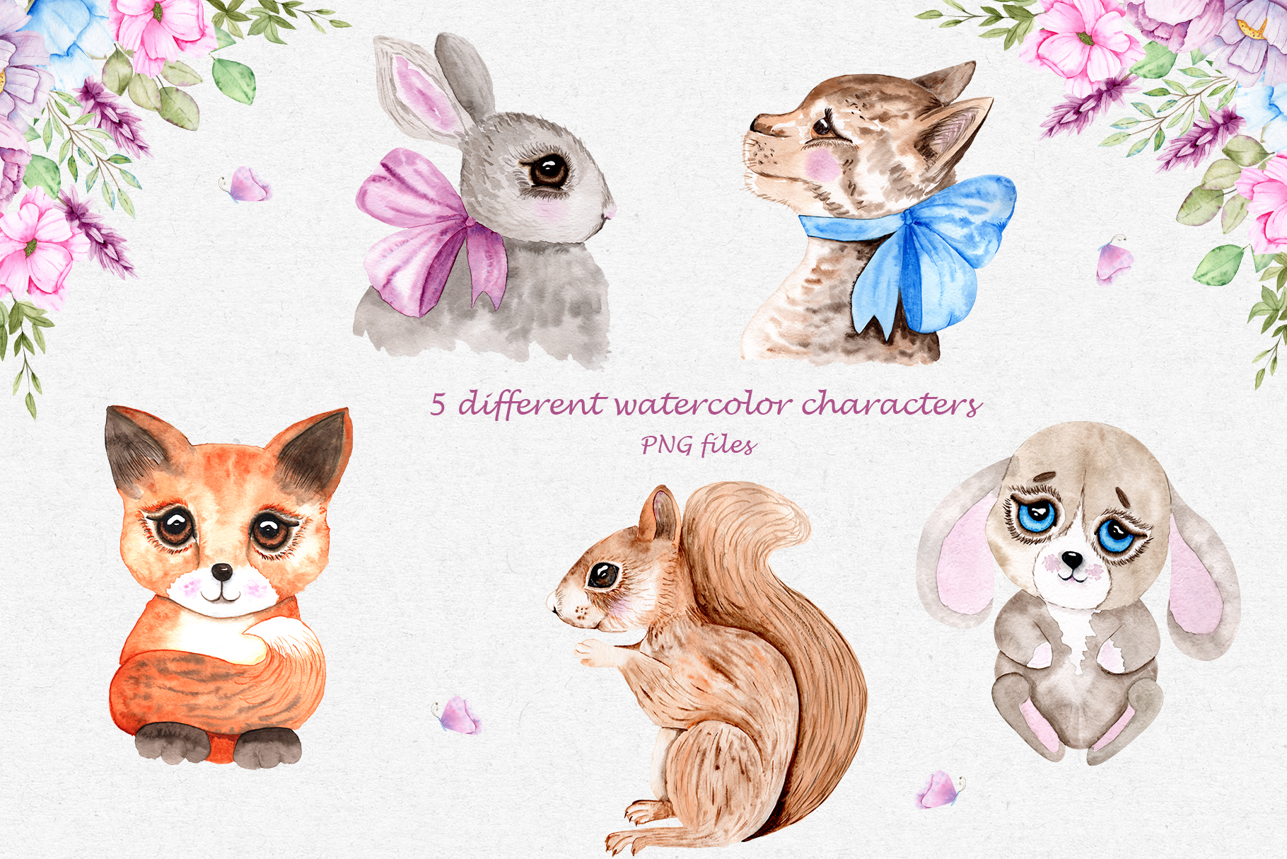 Watercolor Friends Collection example image 3