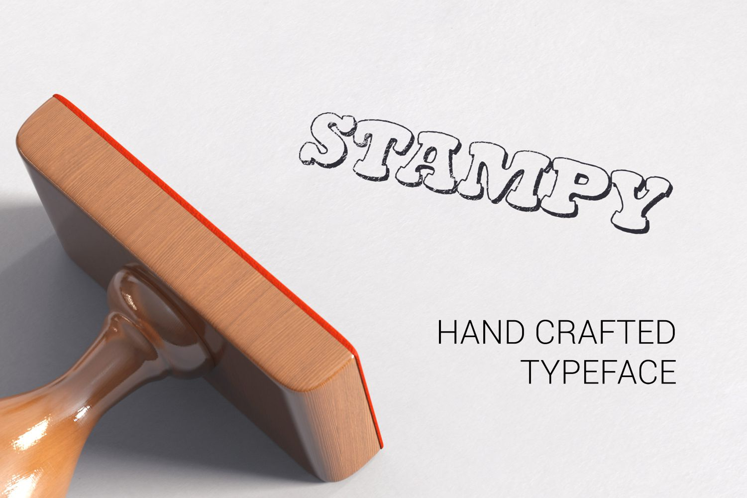 Stampy Light font example image 3