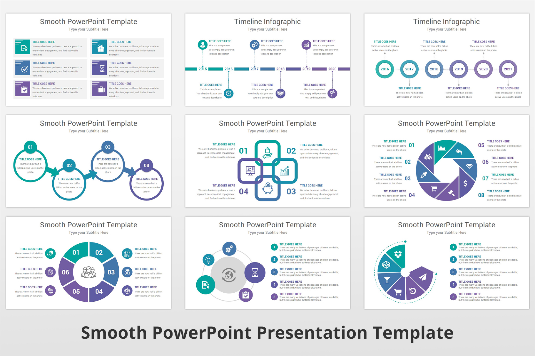 Smooth multipurpose PowerPoint Presentation Template example image 12