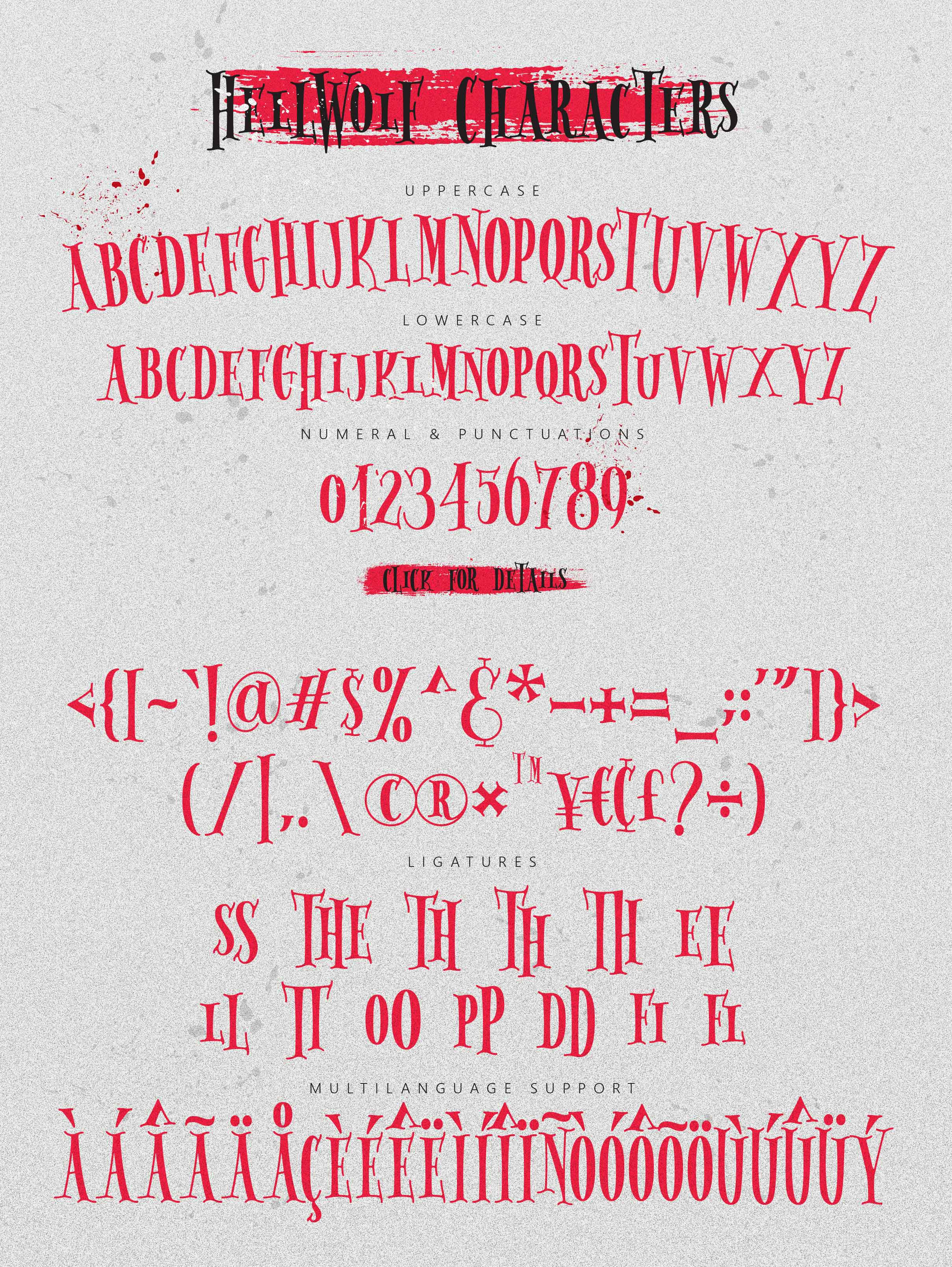 Hellwolf Typeface example image 4