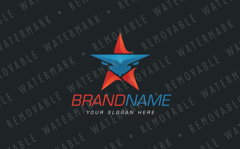 Bull Star Logo example image 3