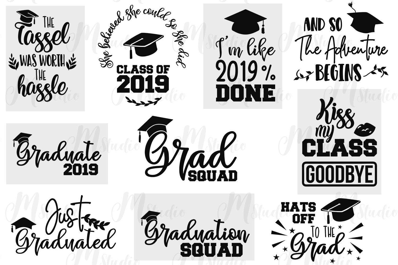 Graduation SVG Bundle. example image 3