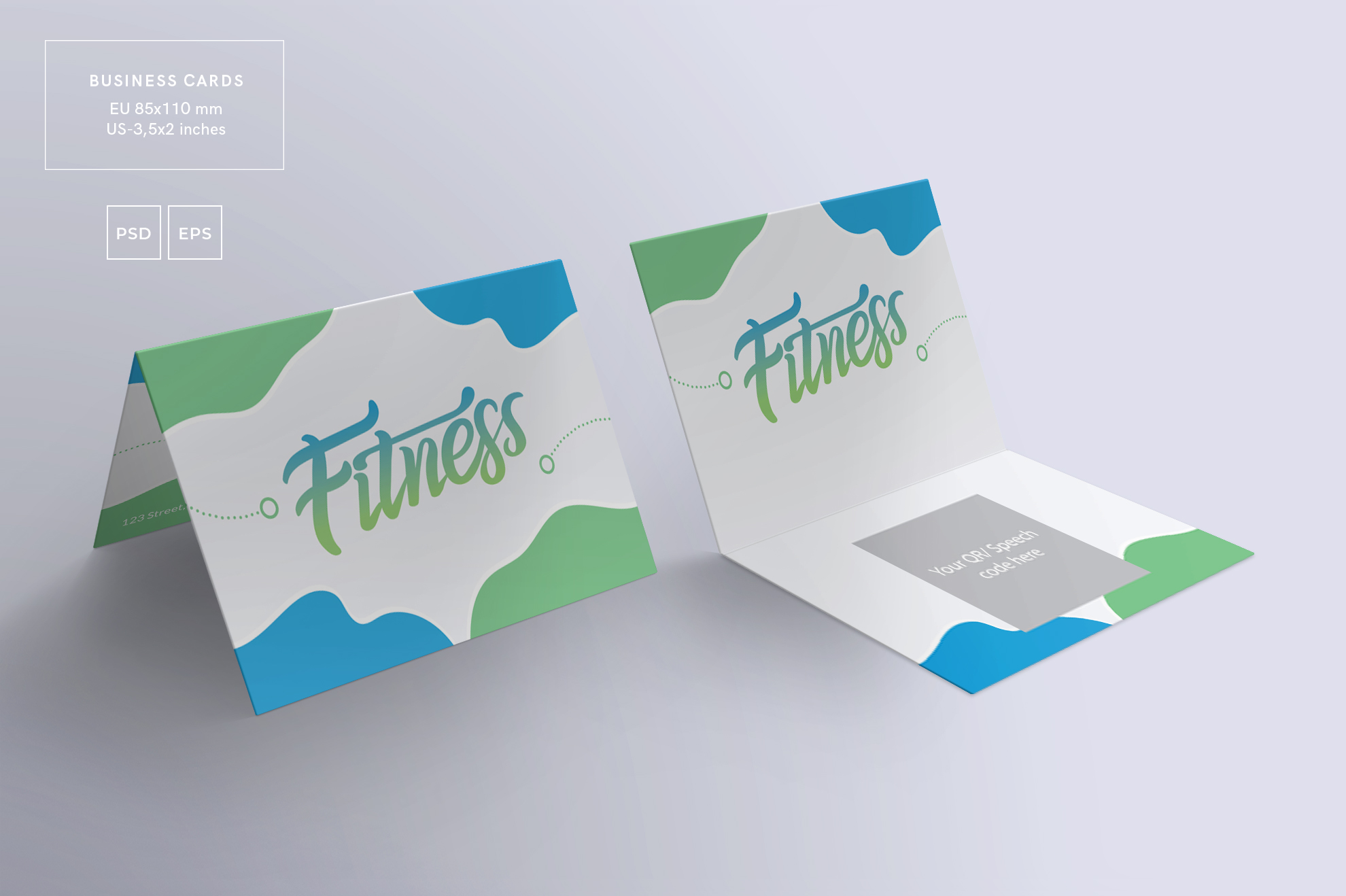 Fitness Training Gym Workout Design Templates Bundle