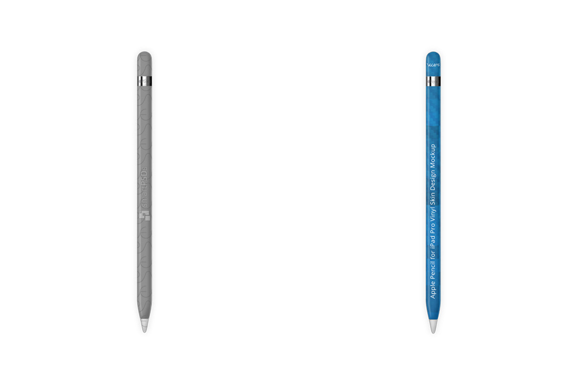 Apple Pencil for iPad Pro Vinyl Skin Design Mockup example image 2