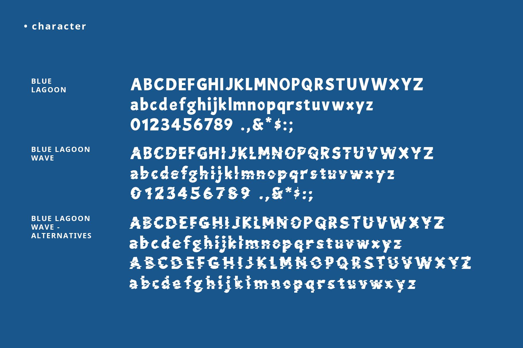Blue Lagoon font example image 6