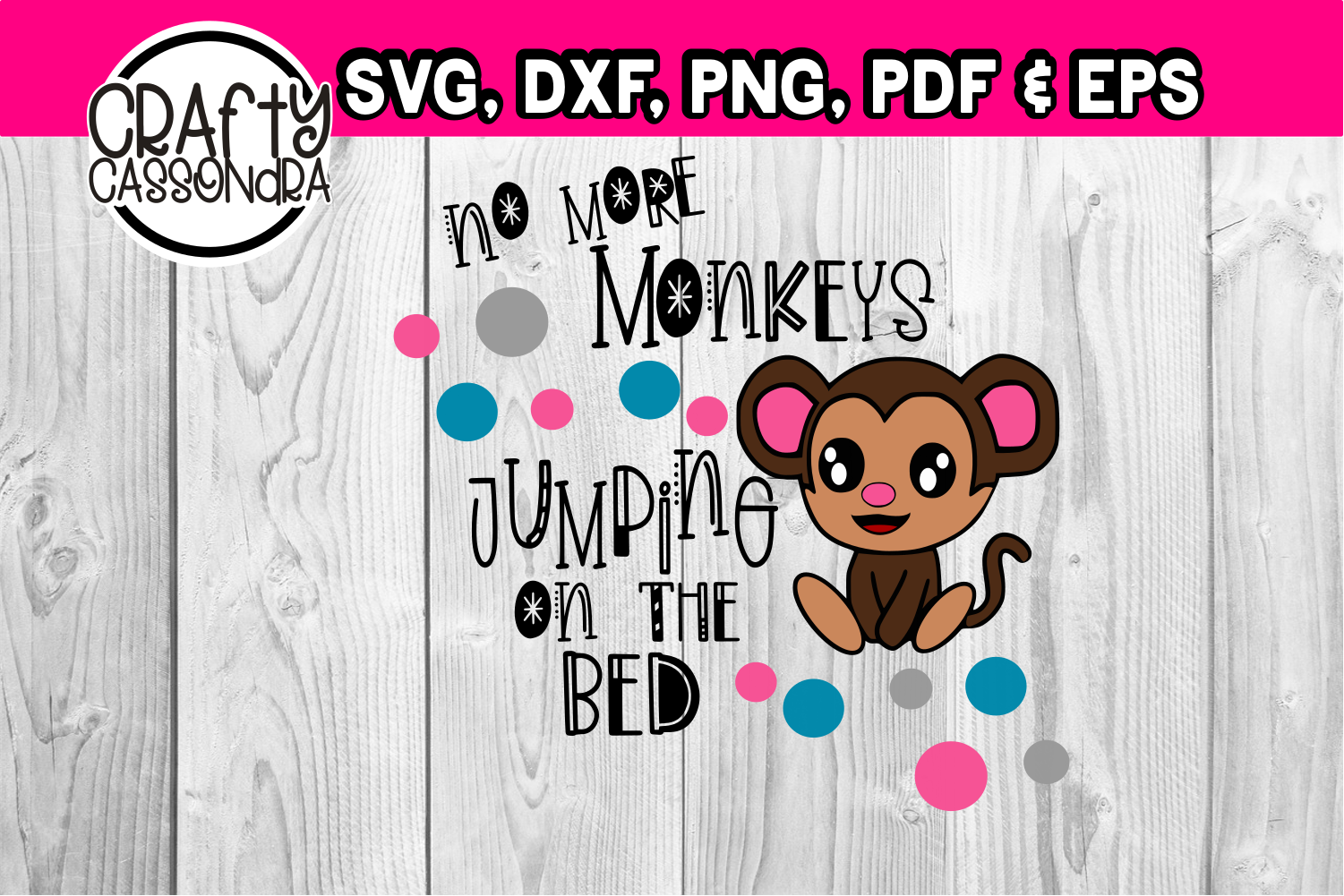 No more monkeys jumping on the bed example image 1