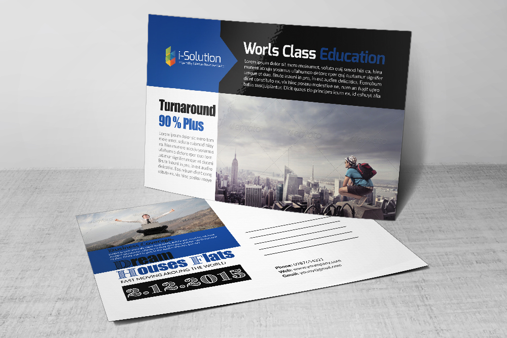 Professional Business Postcards example image 2