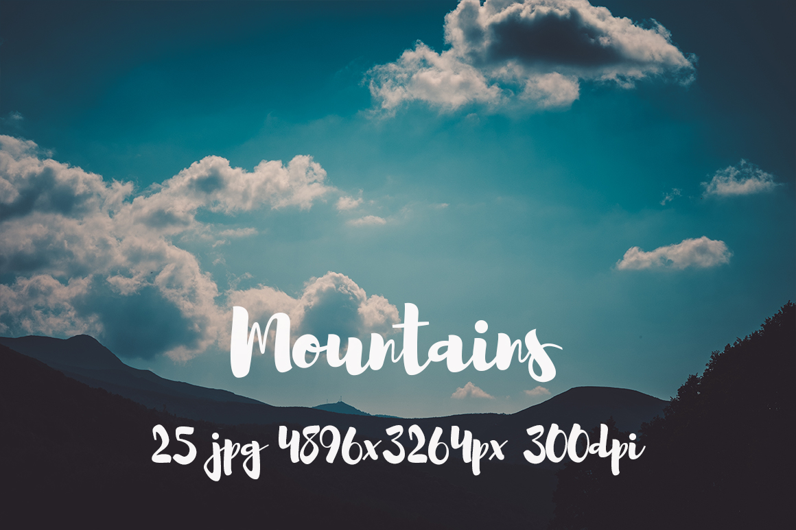 Mountains Pack example image 7