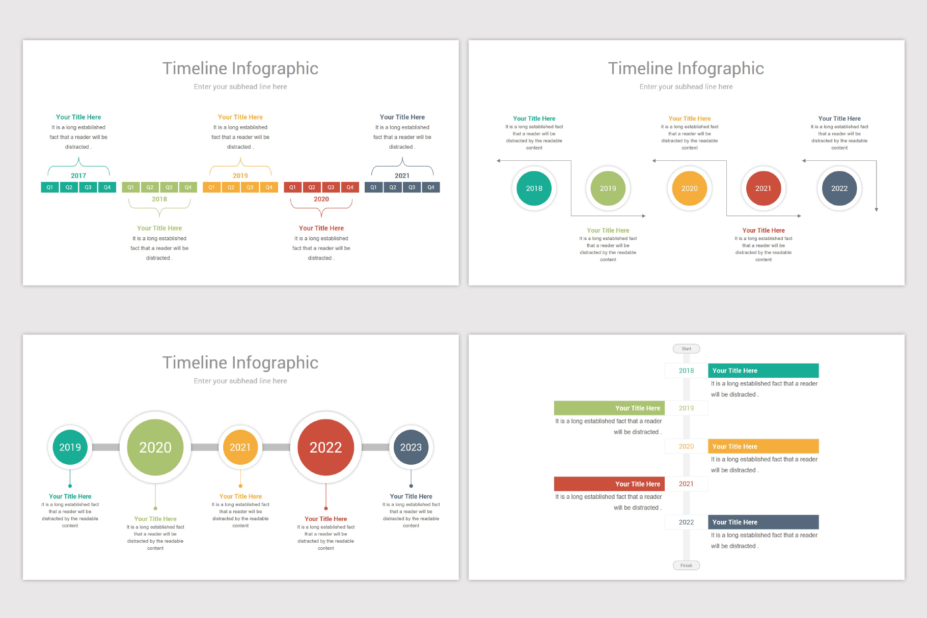 Keynote Timeline Template example image 10