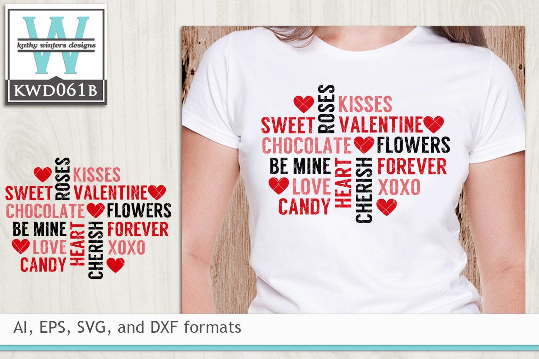 BUNDLED Valentines Cutting Files KWDB024 example image 6