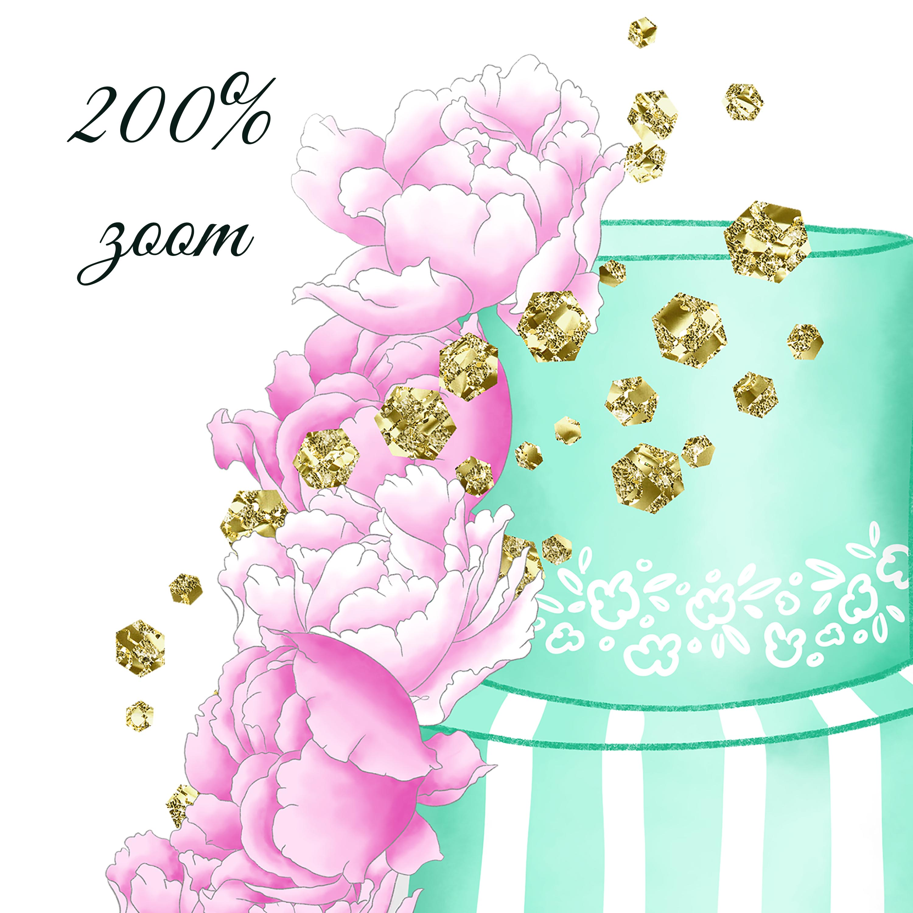 Fashion cakes clipart example image 6
