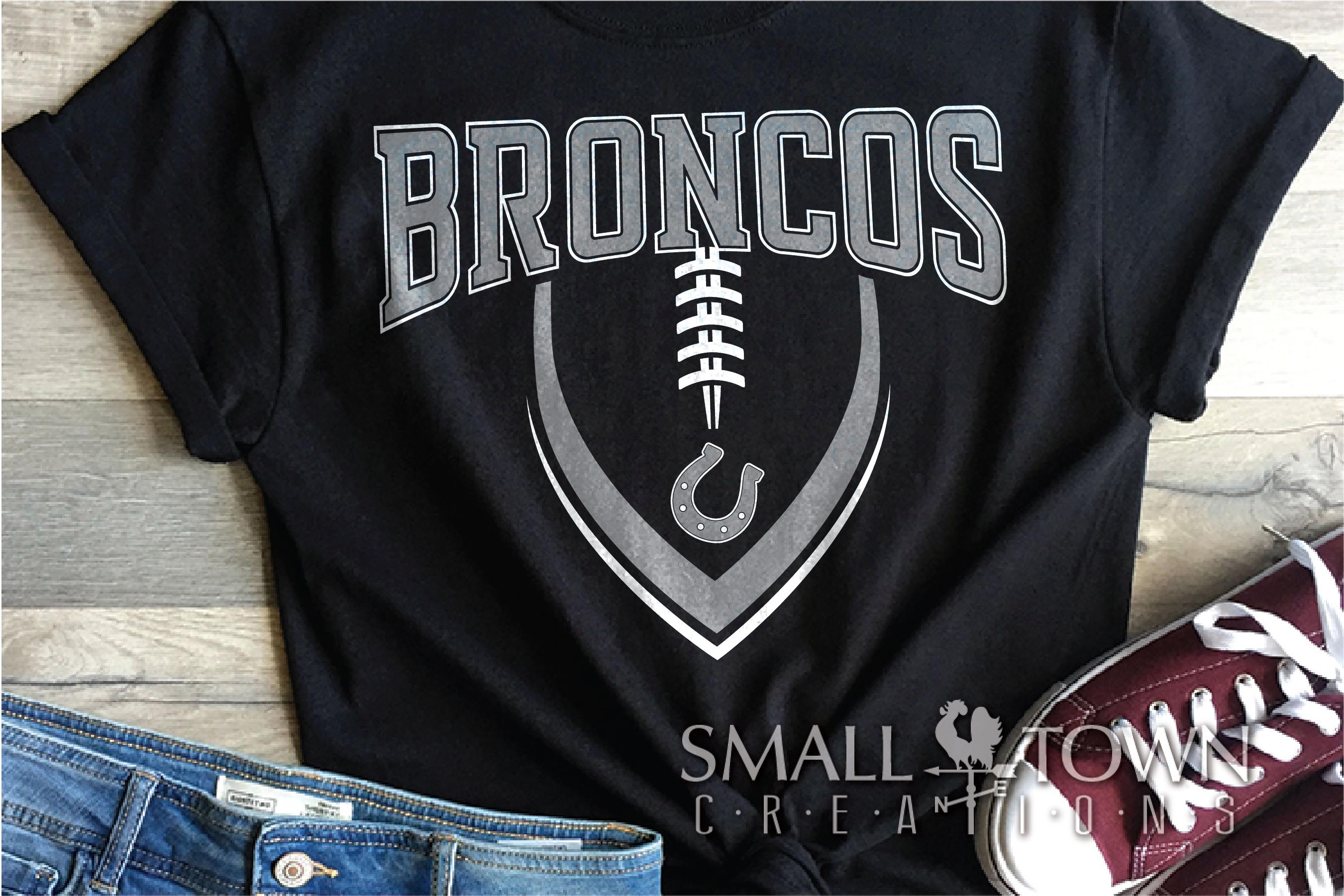 Bronco, Broncos Football, Team, Sport, PRINT, CUT & DESIGN example image 1