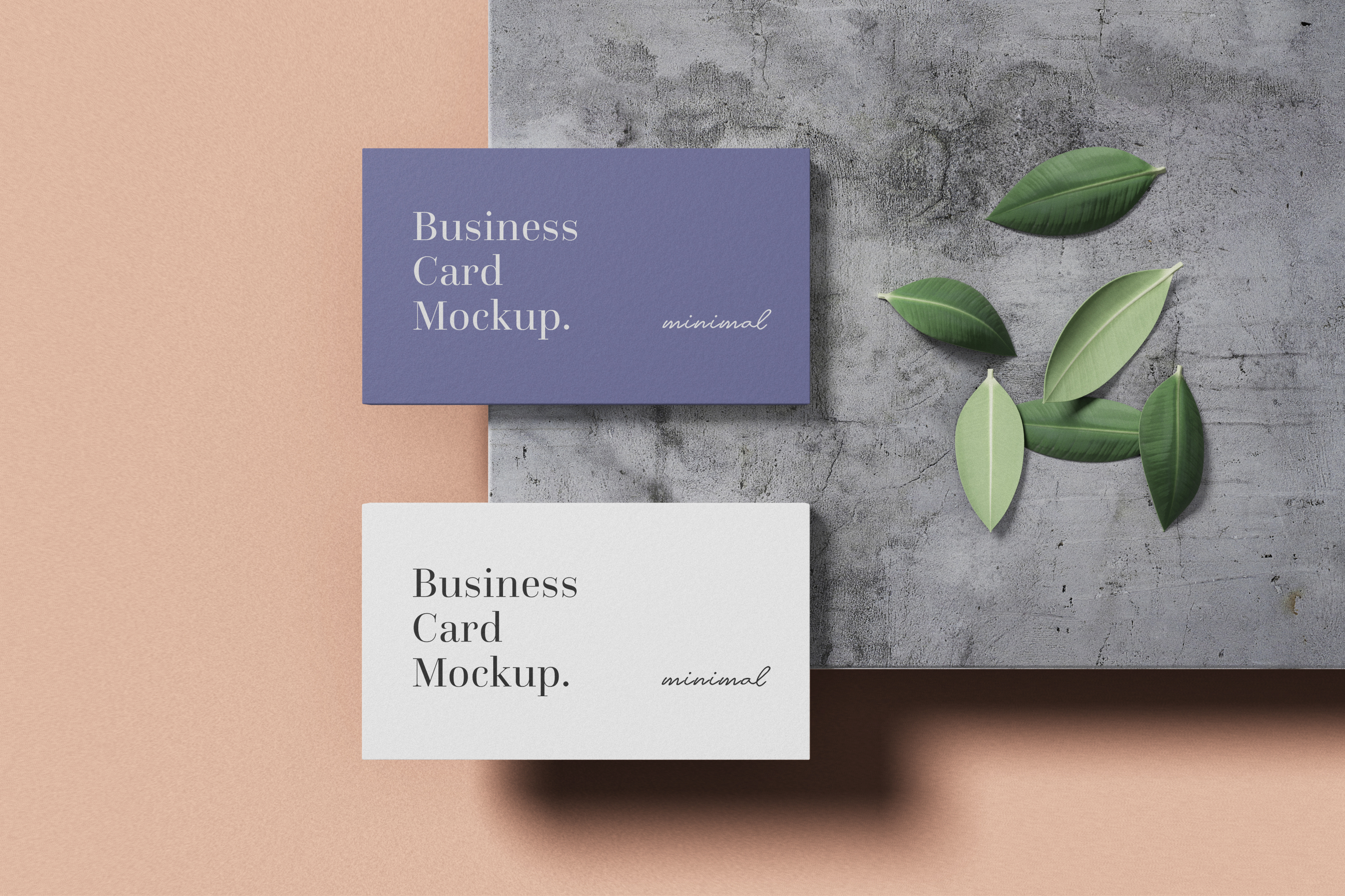 Modern Business Card Mockup example image 6