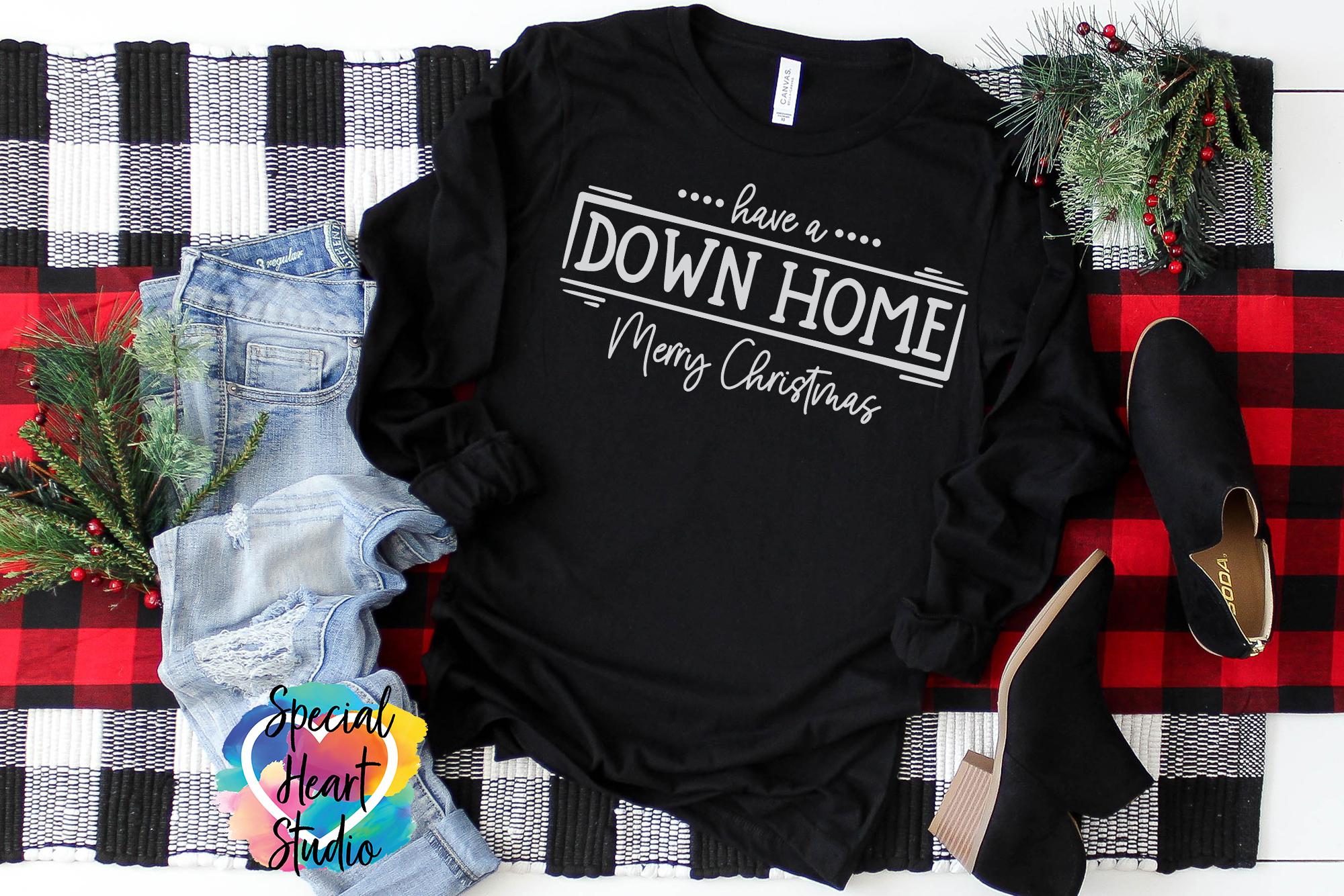 Down Home Christmas - A Christmas SVG Cut File example image 3