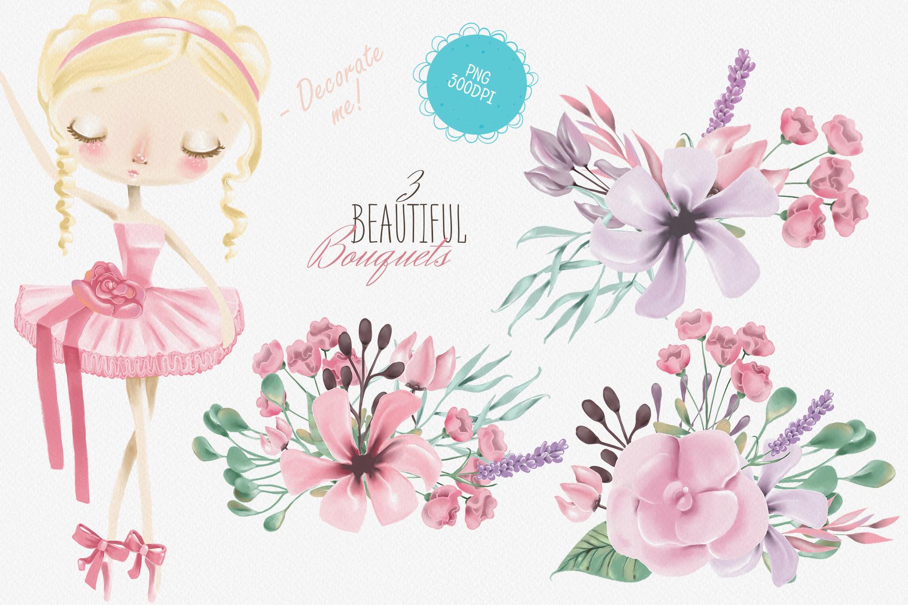 Ballet Girls example image 3