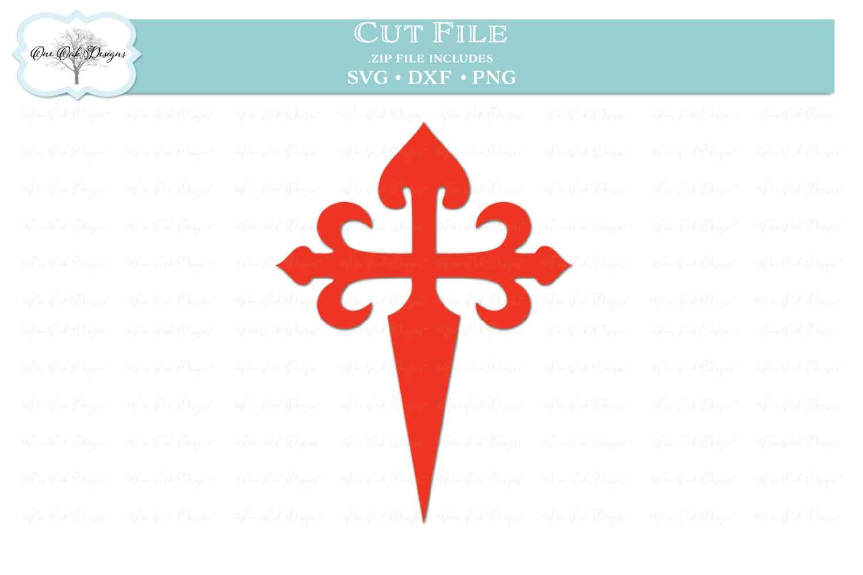 Cross of St. James - Camino de Santiago example image 1