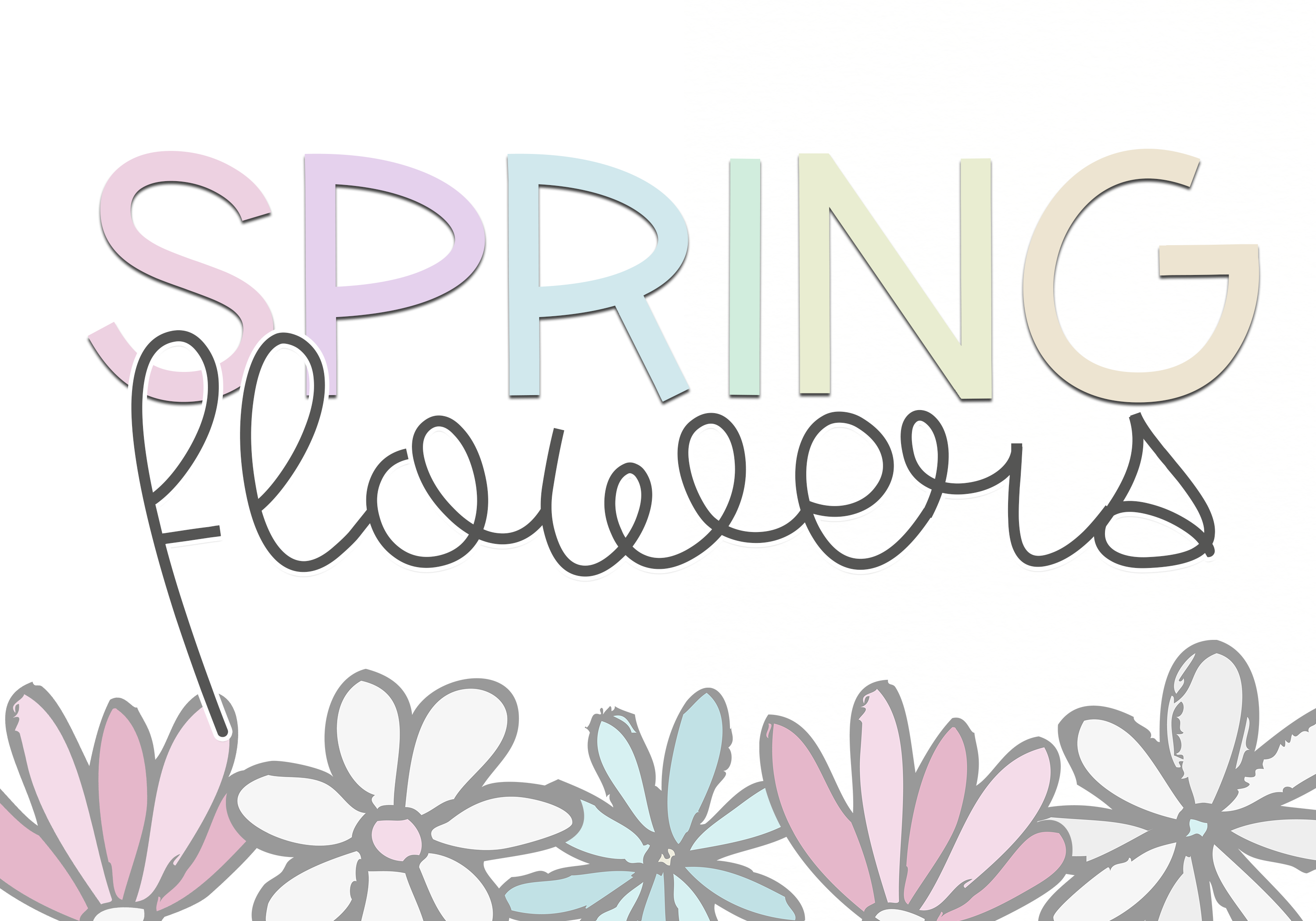 Spring Sunshine - A Serif & Script Font Duo example image 8