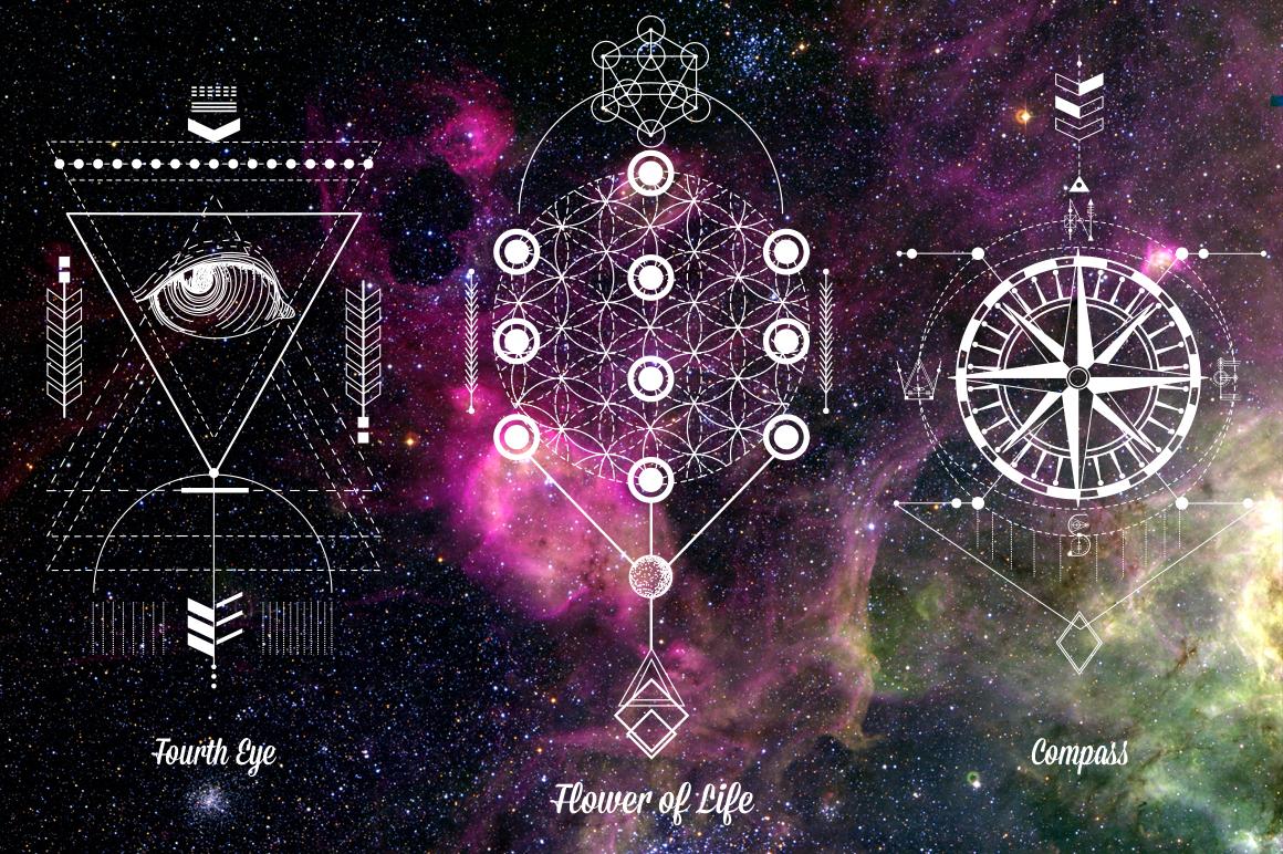 Sacred Geometry. Magic totem vol.2 example image 4