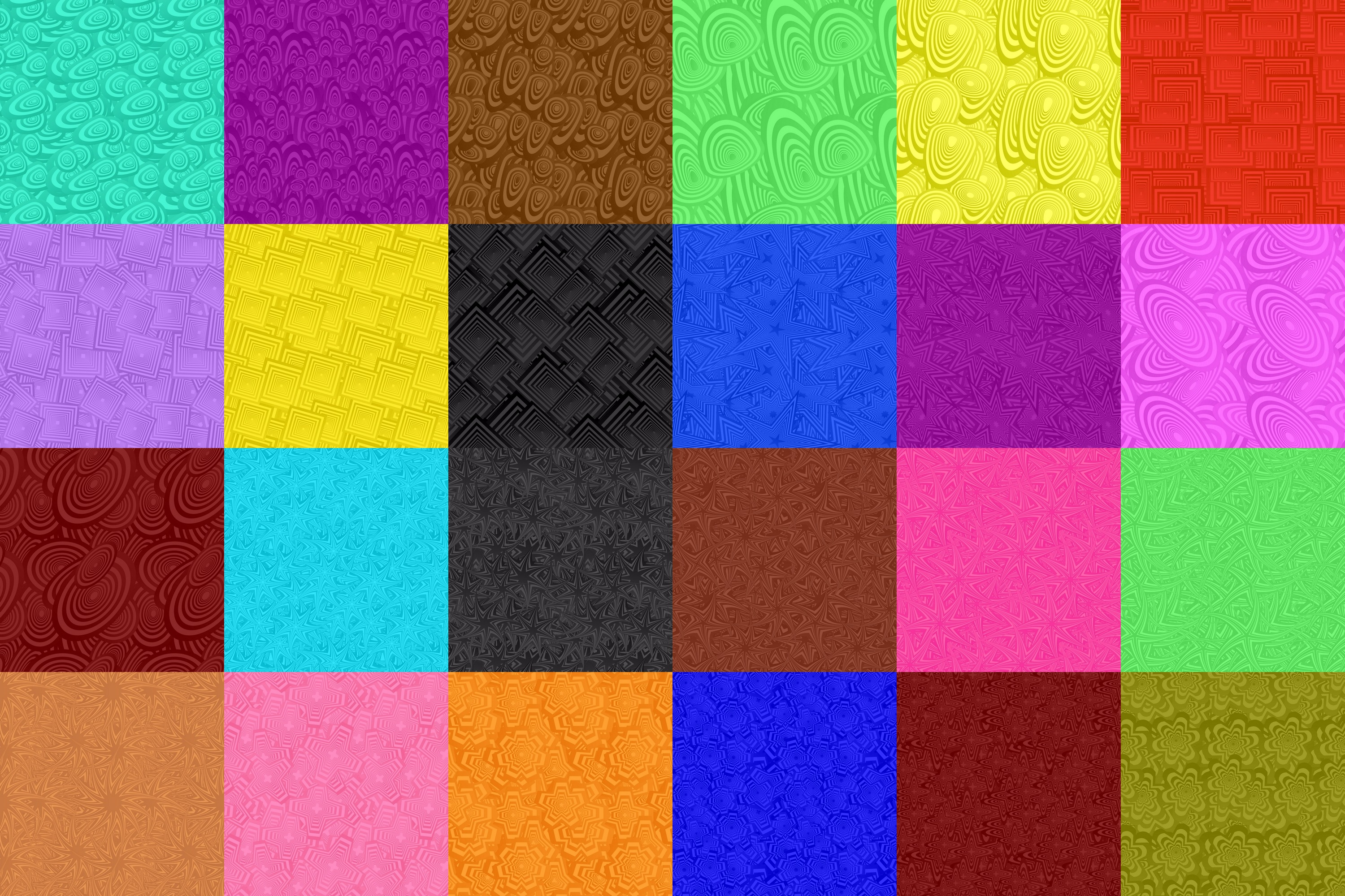 80 seamless pattern backgrounds - AI, EPS, JPG 5000x5000 example image 3
