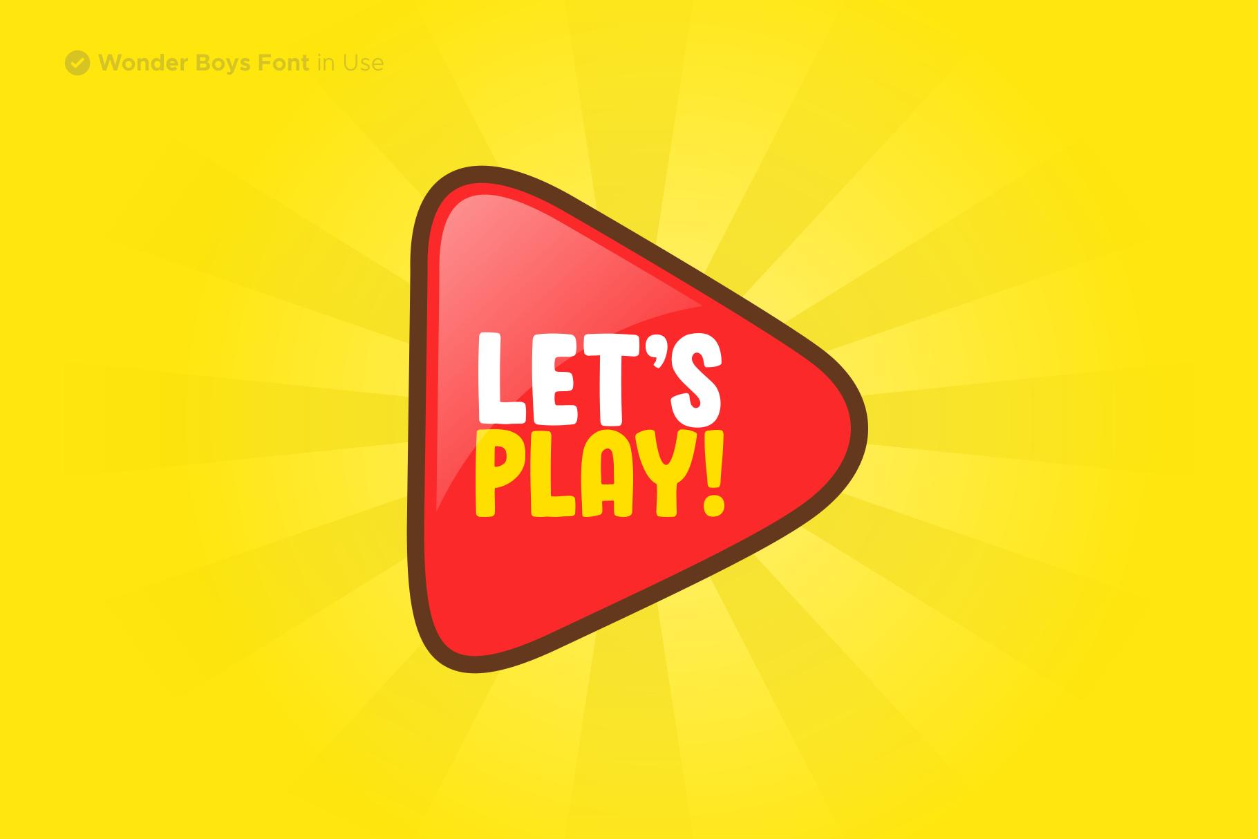 Wonder Boys - Fun Kids Font Display example image 6