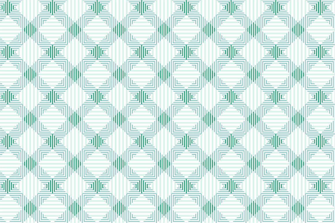 Green Textile Seamless Patterns. example image 6