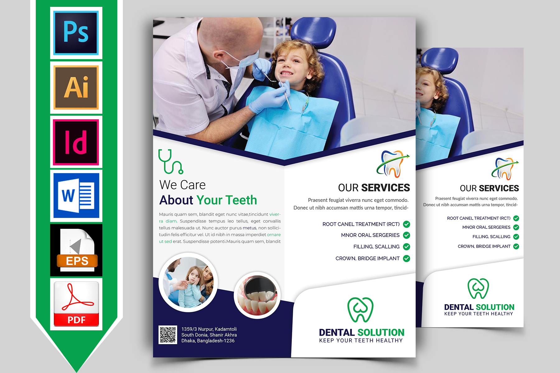Dental Flyer Template Vol-02 example image 1
