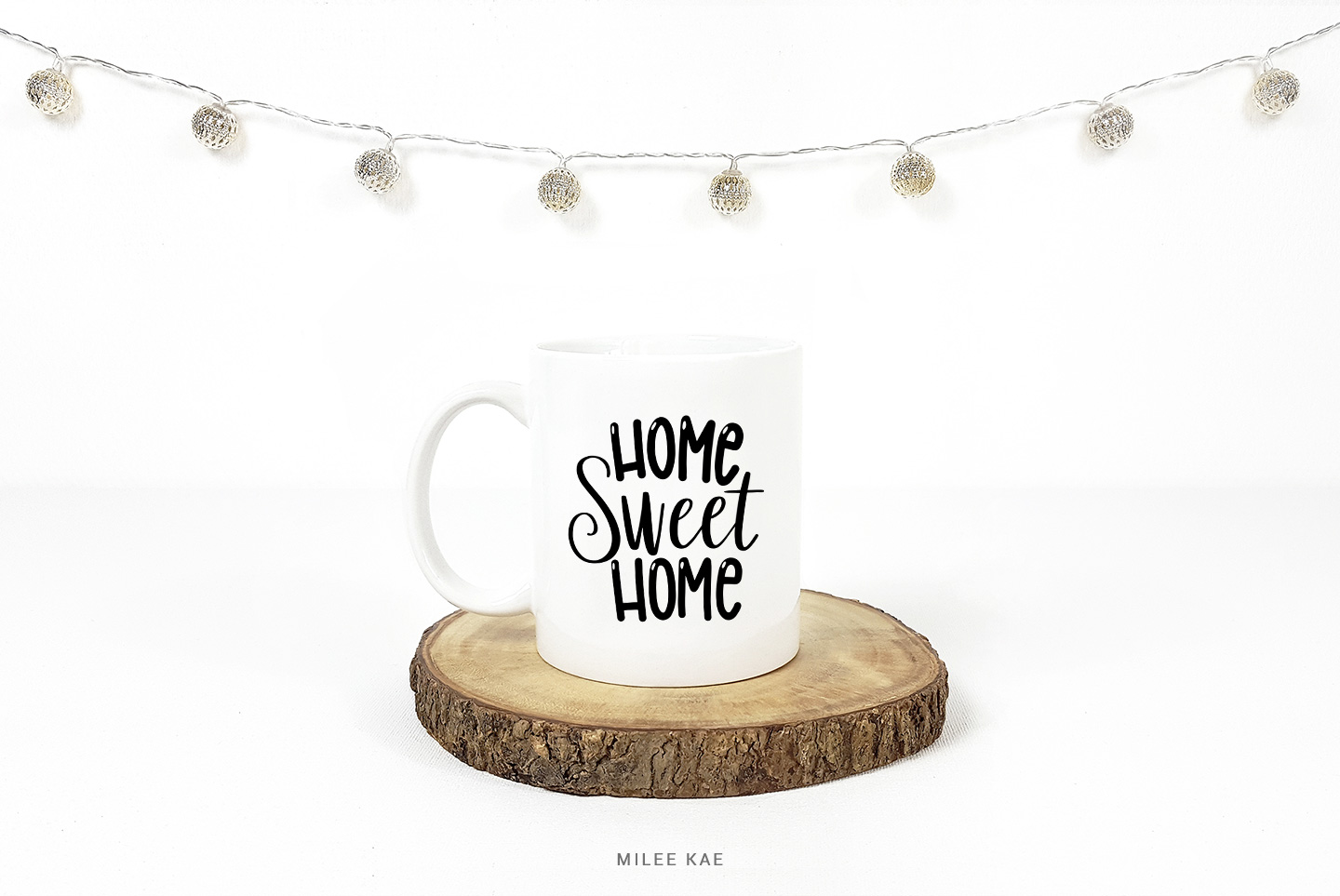 Home Sweet Home, Quote SVG, Cutting file, Decal example image 2